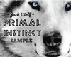 5KG SAMPLE PACK OF PRIMAL INSTINCT - Jack Wolf