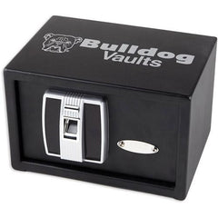 "7.25"" x 11"" x 8"" Digital Pistol Vault w-Biometric Lock"
