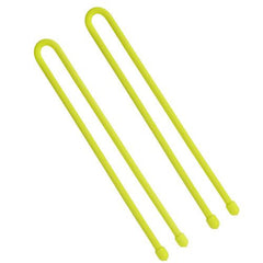 "Gear Tie 12"" - Neon Yellow (Per 2)"