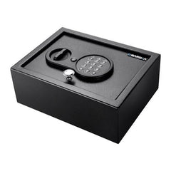 BioMetric Safe - Top Open Keypad, 031 Cubic Feet, Black