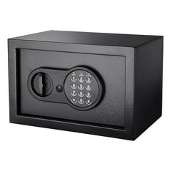 BioMetric Safe - Compact Keypad, 036 Cubic Feet, Black