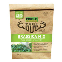 Take Out - Brassica Blend Food Plot Seed, 5 lb Bag