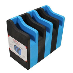 5 Pistol Soft Cradle Holder, Black-Blue