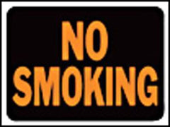 HY KO SIGN NO SMOKING 3013 9 IN. X12 IN. (must order by 10)