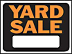 HY KO SIGN YARD SALE 3033 9 IN. X12 IN. (must order by 10)