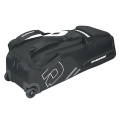 DeMarini Momentum Baseball Wheeled Bag-Black
