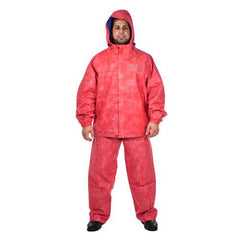 Envirofit Rain Jacket-Pants Set Red L