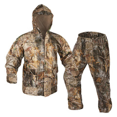 8282Onyx Outdoor Realtree AP Adult PVC Rainsuit-Large