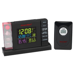 First Alert Radio Control Weather Station Alarm Clock