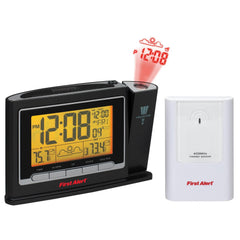 First AlertRadio Controlled Weather Station Projection Clock