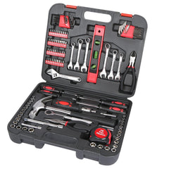 Great Neck 119 Piece Home and Garage Tool Set w-Case