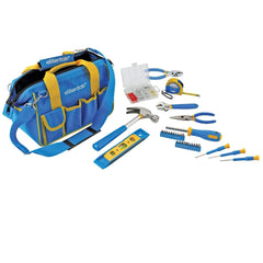 Great Neck 31 Piece Essential Around the House Tool Kit-Blue