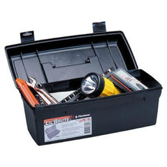 "Flambeau Hardware 14"" Brute Tool Box With Lift-Out Tray-Blk"