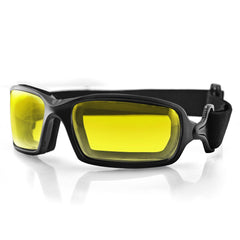 Bobster Fuel Biker Goggle-Anti-fog Yellow Photochromic Lens