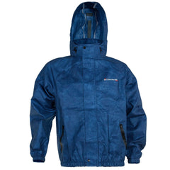 Compass 360 AdvantageTek Non-Woven Rain Jacket-Blue-Size XL