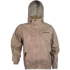 Compass 360 AdvantageTek Non-Woven Rain Jacket-Khaki-XL