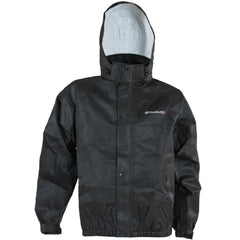 Compass 360 DuraTek T75HD Non-Woven Rain Jacket-Blk-Size MD