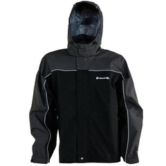 Compass 360 RoadForce Reflective Riding Jacket-Slate-Blk-XL
