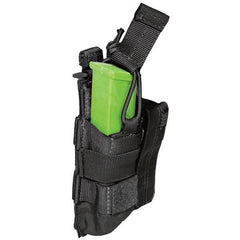 5.11 Pistol Bungee Cover Double Mag Pouch, Black