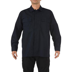 5.11 Ripstop TDU Long Sleeve Shirt, Dark Navy, M