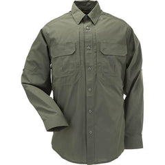 5.11 Taclite Pro Long Sleeve Shirt, TDU Green, L