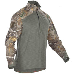 5.11 Rapid Response 1-4 Zip Long Sleeve Shirt, Realtree, S