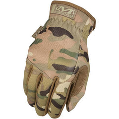 Fastfit Glove, Easy On-Off Elastic Cuff, Multicam, Large
