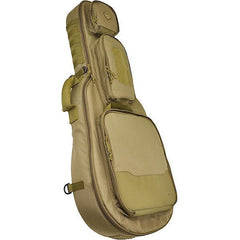 BattleAxe, Guitar-Shaped Padded Rifle Case, Coyote