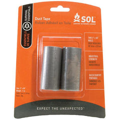 AMK Survive Outdoors Longer Duct Tape Two 50 In. Rolls
