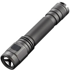 EC-A12 Rechargeable Flashlight, Gray, 380 lm, 2x AA