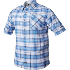 1700 Shirt, Short Sleeve, Admiral Blue, 4XL