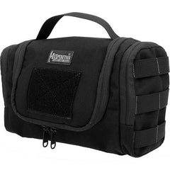 Aftermath Compact Toiletries Bag, Black
