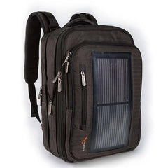 Packr Executive, Luxury Solar Powered Backpack, Gray