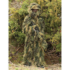 Camo Ghillie Suit, 5-Piece, Youth Size 14-16