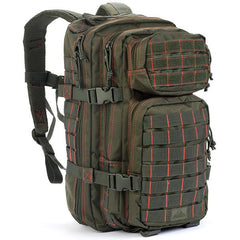 Rebel Assault Pack, Olive Drab w-Red Stitching