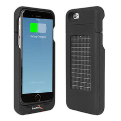 Surfr iPhone 6, Solar & Battery Phone Charger, Black