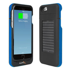 Surfr iPhone 6, Solar & Battery Phone Charger, Blue