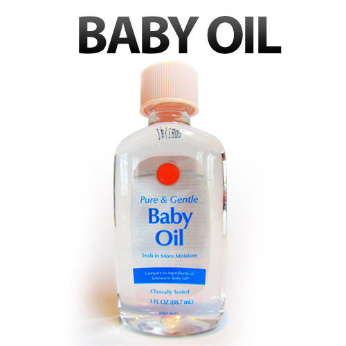 The dangers of baby oil for babies and adults