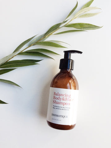 dermatique balancing shampoo excellent for eczema and psoriasis
