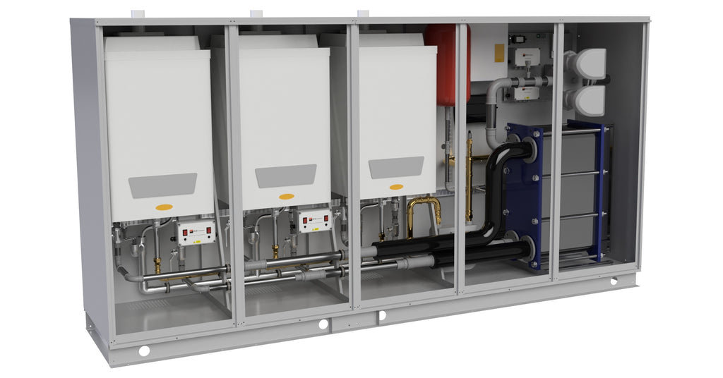 RVRPAK Pre-packaged boiler systems
