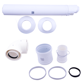 80/125 Horizontal Flue Kit