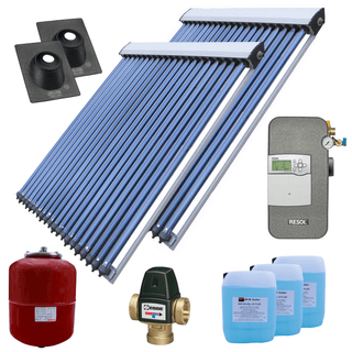 Solar Thermal Kits - RVR Vacuum Collector