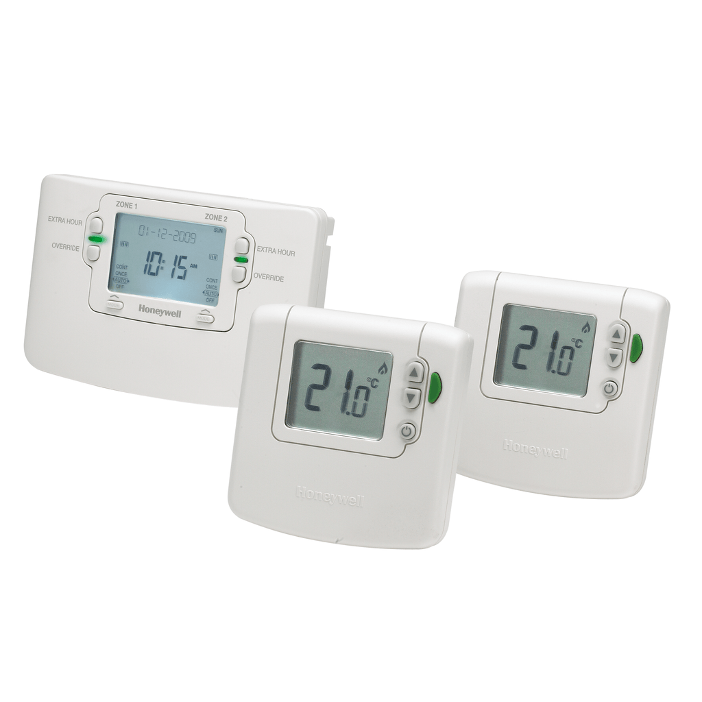 2 channel Honeywell Sundial RF pack 5 (room stat x 2)