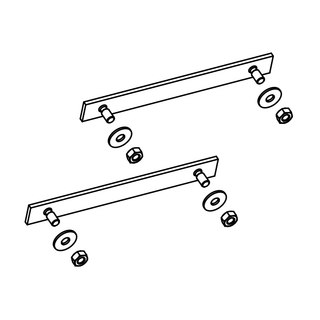 Frame connection kit for additional CP4 XL Flat Plate Collector