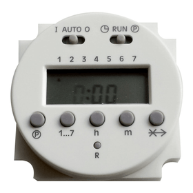 Digital weekly clock programmer