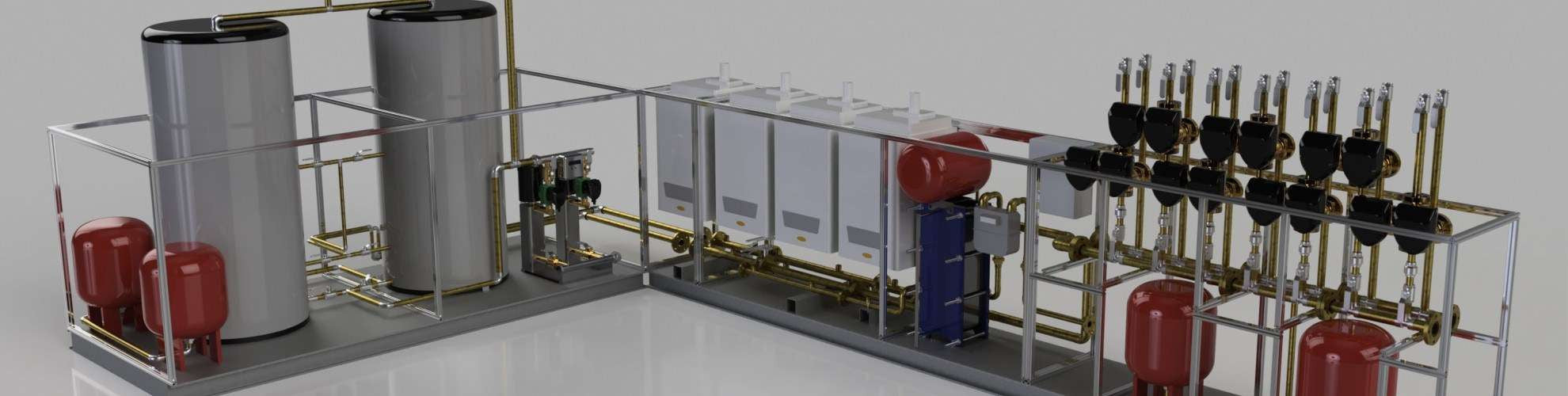 Commercial Boiler House Products