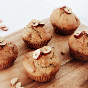 Recipe: Banana and Red Dates Muffins by Lydia Jeffery- Vegan