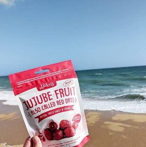 red dates jujube fruit beach heatwave