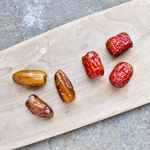 Red Date cuts sugar by 50% compared to Dates, and gives you good mood