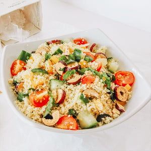 Recipe: Couscous and Red Dates Salad- Vegan- By Lydia Jeffery